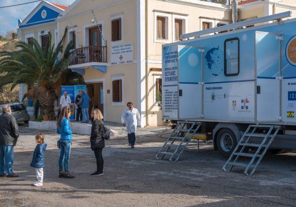 Στο Καστελόριζο για 3η φορά οι Κινητές Ιατρικές Μονάδες