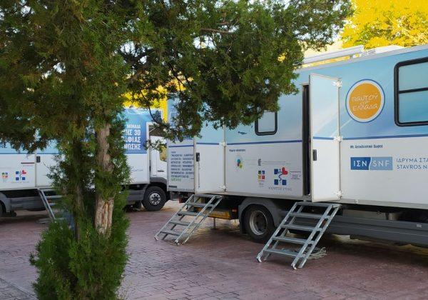 Oι Κινητές Ιατρικές Μονάδες για 2η φορά στο Λαιμό του δήμου Πρεσπών