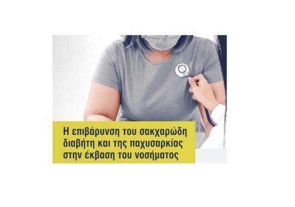 Η επιβάρυνση του σαγχαρώδη διαβήτη και της παχυσαρκίας στην έκβαση του νοσήματος   Παναγιώτης Χαλβατσιώτης