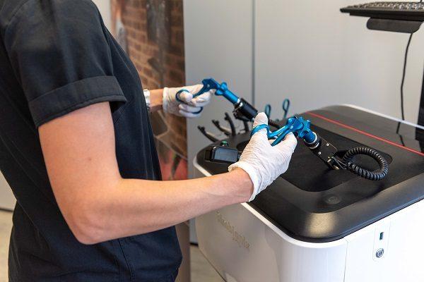 Επίδειξη και χρήση προσομοιωτών εικονικής πραγματικότητας   Medical Simulation Lab   10-13.05.21